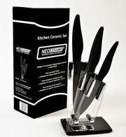 Набор керамических ножей NEO CERAMIC с подставкой