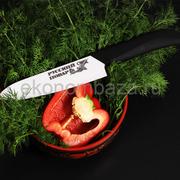 Керамический нож Русский Повар с лезвием из белой керамики 156 мм.