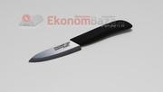 Керамический нож Русский Повар с лезвием из черной керамики 100 мм.
